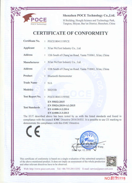 Xian WeTest Industry Co., Ltd.